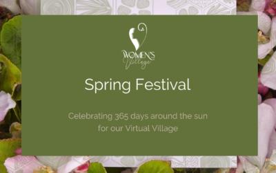 Women's Village Spring Festival : Sunday 29 Aug, 2021