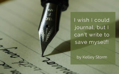 I wish I could journal, but I can't write to save myself!